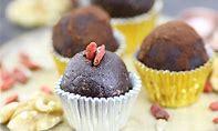 choc truffles